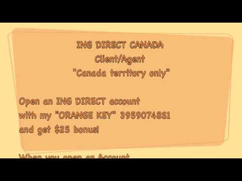 How to save money? ING DIRECT CANADA