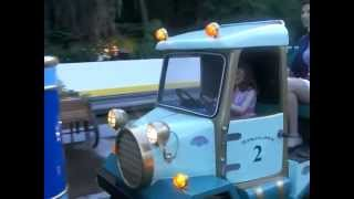My daughter Driving Jessica Seinfeld at Central Park Charity Event