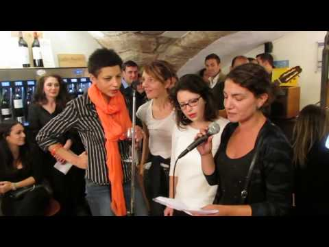Open mic WineTouch Paris September 2017