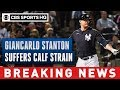 Download           Yankees' Giancarlo Stanton suffers calf strain, could be out for Opening Day | CBS Sports HQ MP3,3GP,MP4