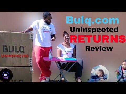 Bulq.com Uninspected Returns Liquidation Pallet Review 2018