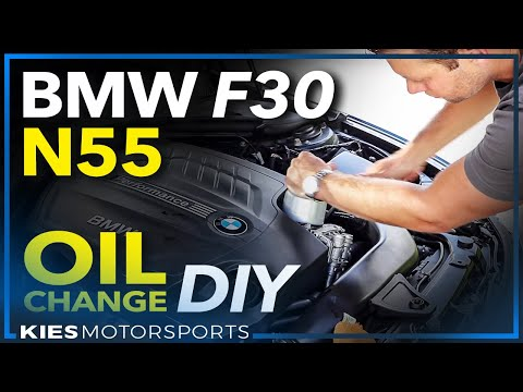 How to Change the Oil and Oil Filter in a BMW F30 335i (N55) xDrive