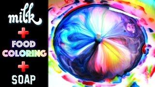 SPRITE SKITTLES CANDY EXPERIMENT ❤ MILK TEST ❤ Easy & Fun DIY ...