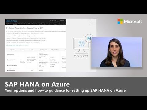 SAP HANA on Azure M-series VMs