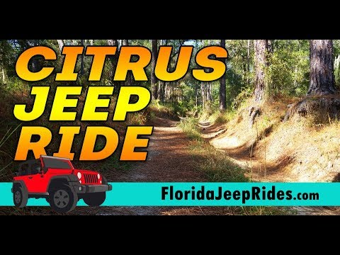 Citrus Jeep ride to the caves and my 4 low shift lever breaks ...