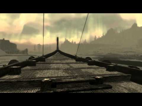 Playing: Skyrim - Dragonborn - Sailing to Solstheim