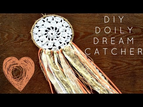 DIY Crocheted Doily Dream Catcher