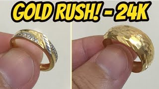 Beach Metal Detecting | 4 Gold - 8 Ring Haul with the Equinox 800!