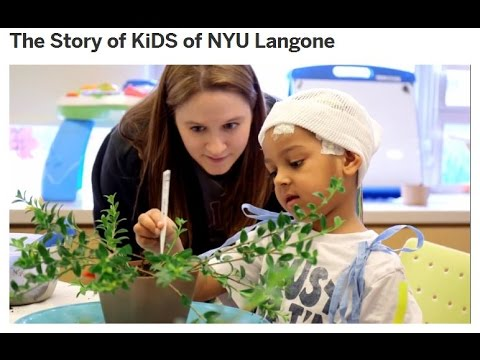 The Story of KiDS of NYU Langone