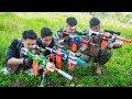 LTT Nerf War Captain SEAL X Warriors Nerf Guns Attack Criminal Group Martial Arts Top