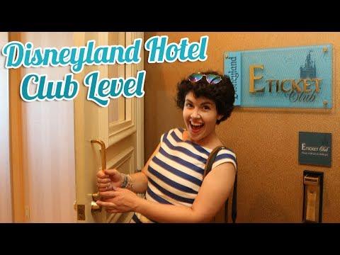 DISNEYLAND HOTEL E-Ticket Club Level Tour   BookishPrincess