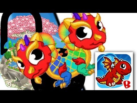 DragonVale Breeding Unlock: Double Rainbow Dragon