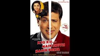 Kyo Kii.... Main Jhooth Nahin Bolta | Full Movie | 720p