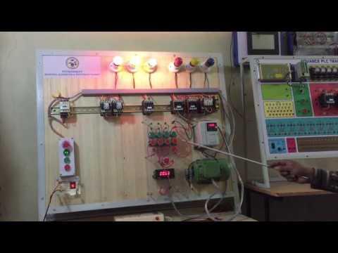 Star Delta 3 Phase Induction Motor Speed Control Using VFD Hindi / Urdu