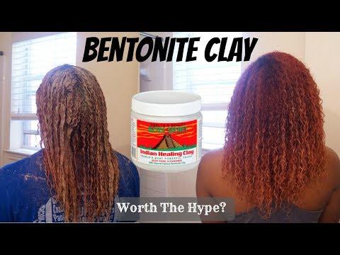 Bentonite Clay  Defined Curls?