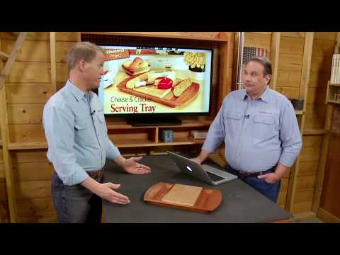 Project Overview: Cheese and Cracker Tray (FREE PLAN)