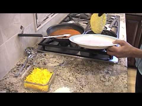 How To Make Cheese Enchiladas | Rockin Robin Cooks