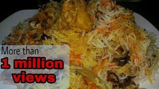 Iftaar special hyderabadi biryani recipe   ramzan special recipes