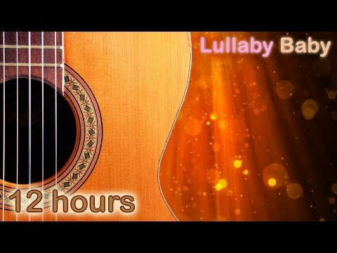 ✰ 12 HOURS ✰ Relaxing GUITAR and PIANO Music ♫ Relaxation, Baby Sleep, Pregnancy, Stress Relief