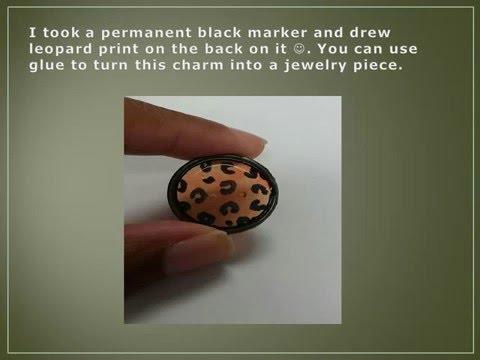 DIY Key Ring Charm