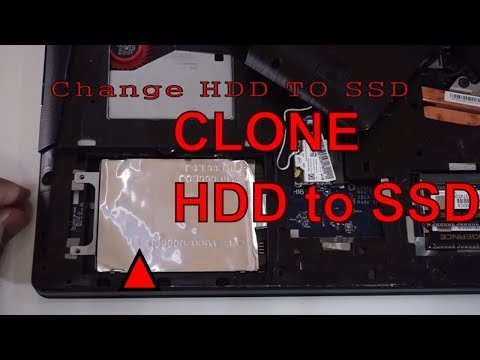 How to CLONE HDD to  SSD for FREE tutorial y510p