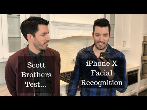 A Property Brothers Twin Test for iPhone X Face Recognition