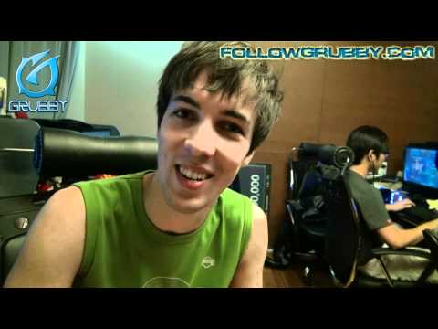 Video Blog #8 - Grubby blogs from oGs house