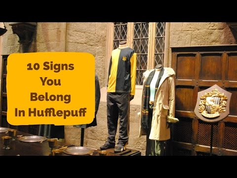 10 Signs You Belong In Hufflepuff | Harry Potter House Quiz