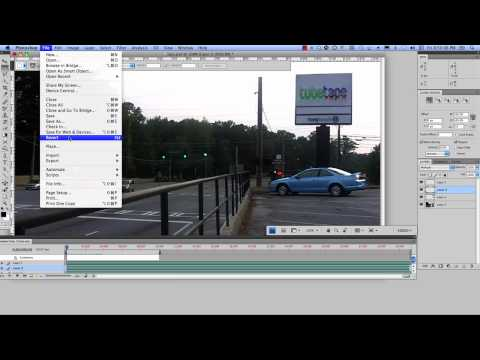 How to render & export video from Photoshop