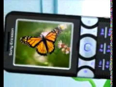Sony Ericsson K550 - Demo tour