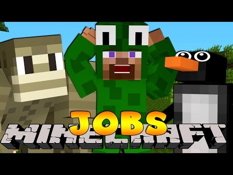 Minecraft Jobs - WORKING AT THE PET STORE! (Custom Roleplay)