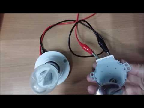 Simple Powerful and efficient Synchronous AC motor 220 volts @4 watt