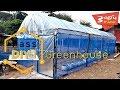 วิธีทำ โรงเรือน PVC งบ1,500บาทก็ทำได้    Diy Greenhouse PVC Pay 50$
