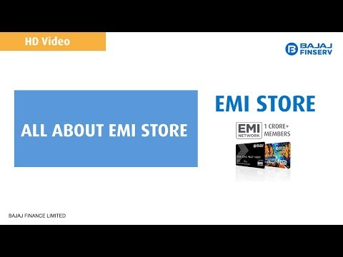 All About EMI Store | Bajaj Finserv | HD