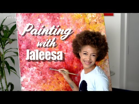 5 YEARS SINGLE!!! | Painting with Jaleesa