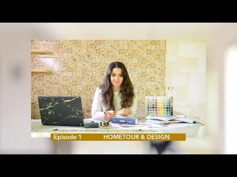 OUR CAIRO HOME  Episode 1 - Hometour & design