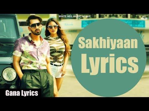 Xxx Mp4 Sakhiyaan Lyrics Maninder Buttar MixSingh Latest Punjabi Song 2018 3gp Sex