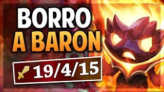 ¡BORRO A BARON Y AL TEAM ENEMIGO! | AMUMU INFERNAL | League of Legends