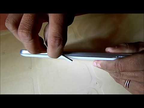Samsung Galaxy Tab 3 Changing SIM card