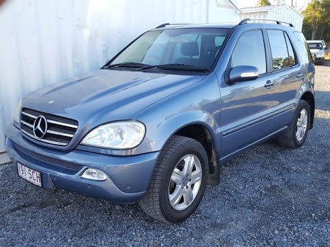 (SOLD) Automatic Cars 7 Seats Mercedes ML350 2005 review