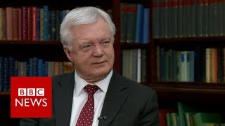 Davis on Brexit negotiations and EU commitments  - BBC News