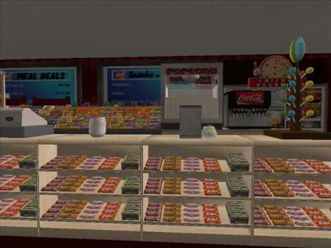 Sims 2 Reel Cinema movie theater