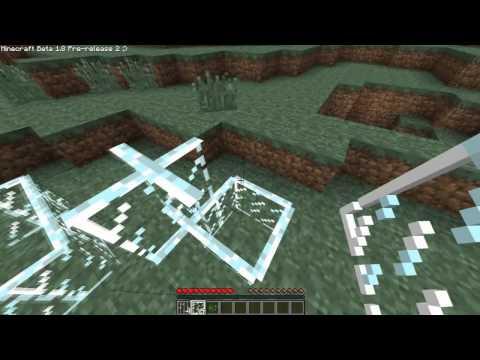 Minecraft 1.8 - Glass Pane & Iron Bars