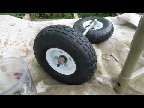 DIY Kayak Scupper Cart