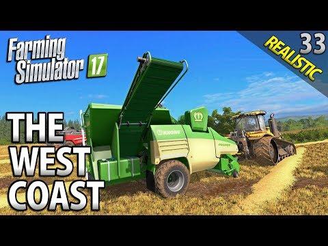 PELLET PRODUCTION | Farming Simulator 17 | The West Coast | Episode 33