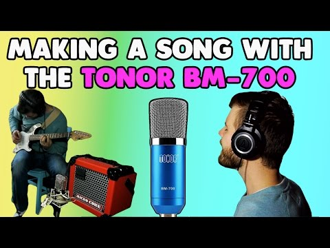 Making a Song with the Tonor BM-700 ($15 Microphone)