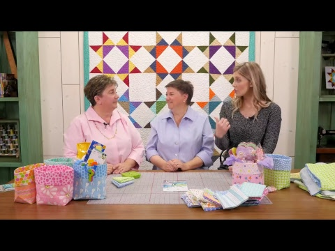 Missouri Star Quilt Company Live with Me & My Sister Designs: Making the Fat Quarter Bucket