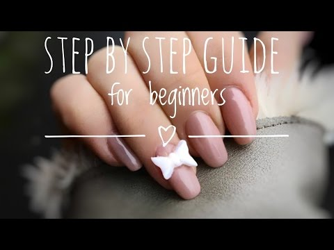 DIY GEL NAILS FOR BEGINNERS| GEL NAILS for DUMMIES