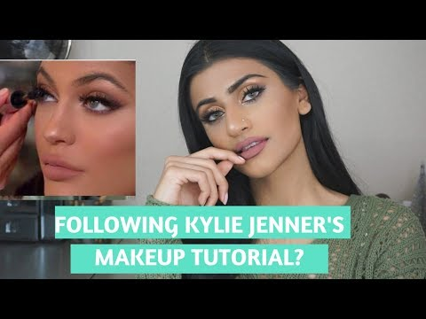I TRIED FOLLOWING A KYLIE JENNER MAKEUP TUTORIAL...OMG