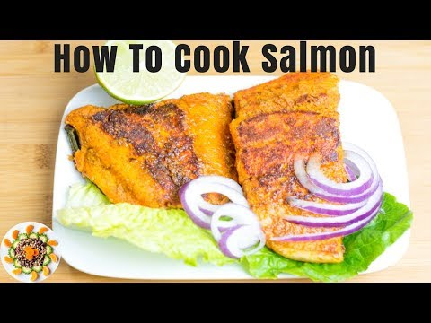 How to Cook Salmon In a Pan | How to Cook Salmon Fillet | How to Cook Salmon with Skin
